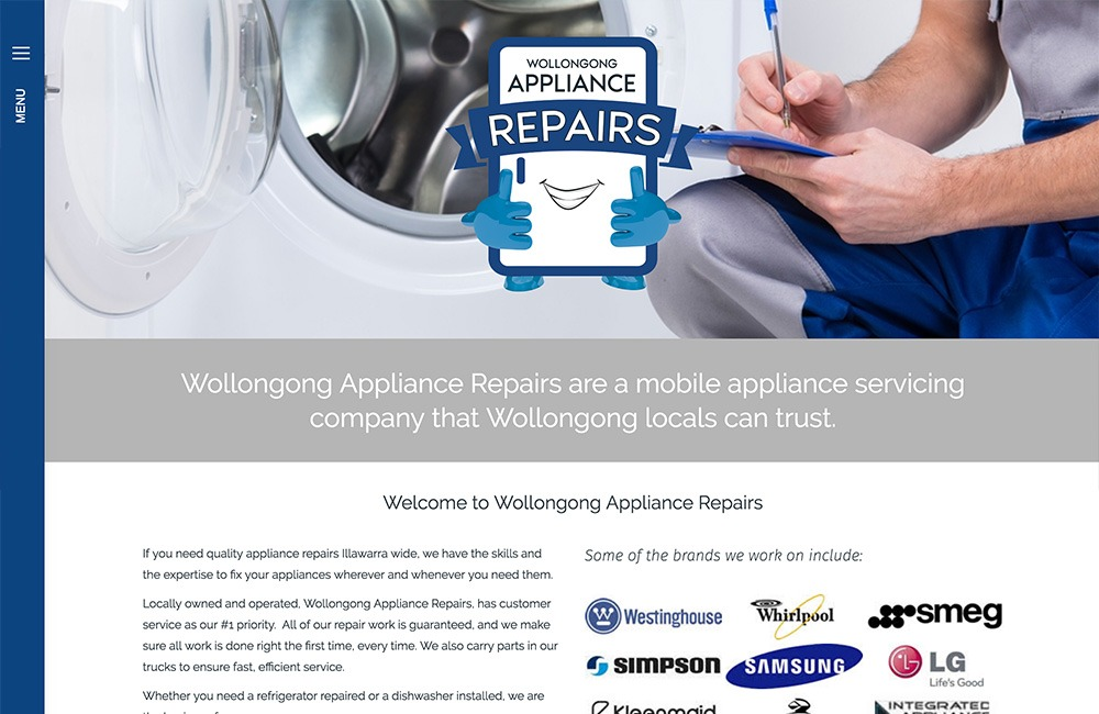 wollongong appliance repairs