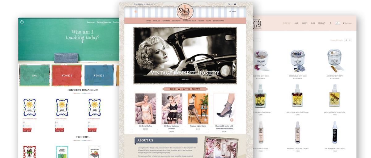 Wollongong ecommerce website design