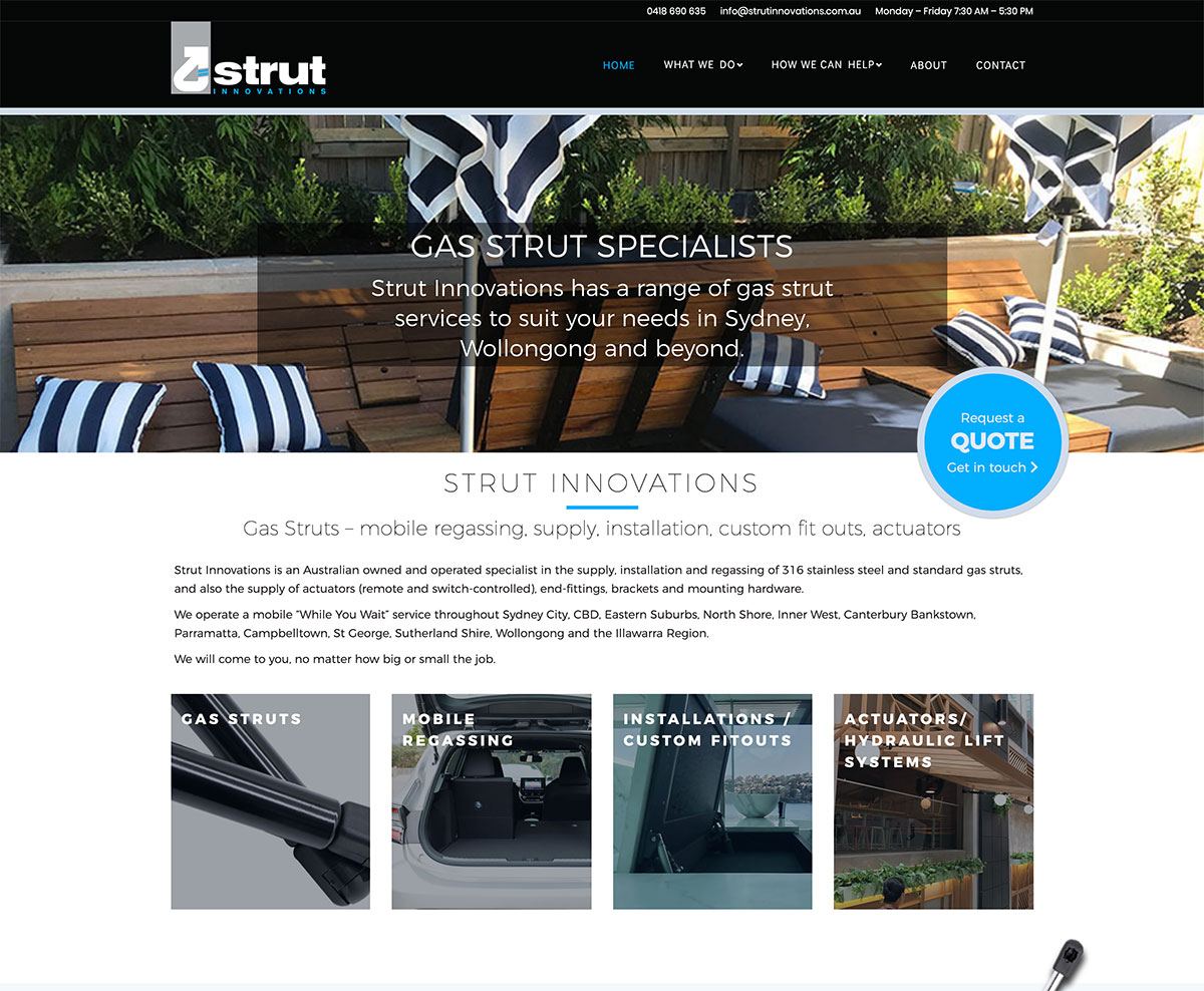 strut innovations